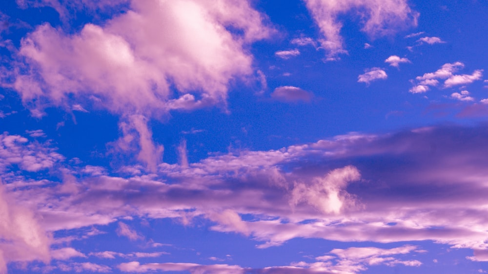 high-angle photography of clouds