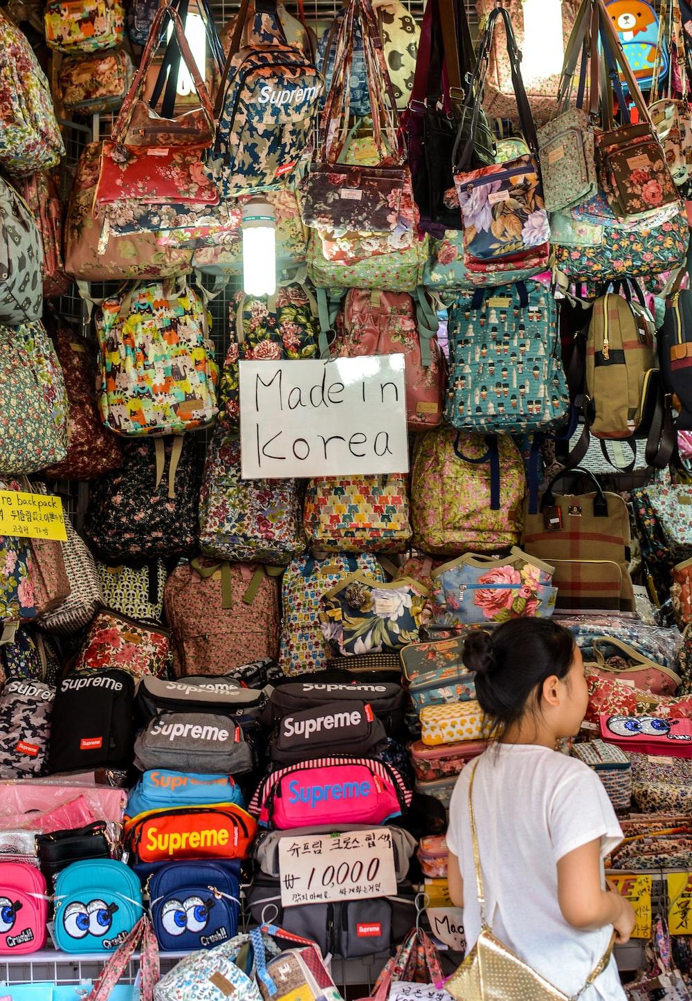 Market, bazaar, shop and person | HD photo by Stefan