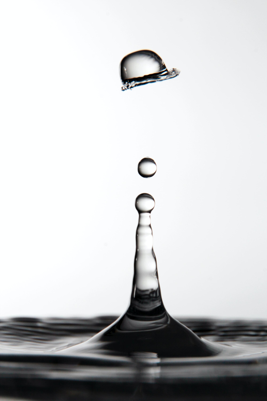 Фотография капли воды - еще одна форма фотографии преломления