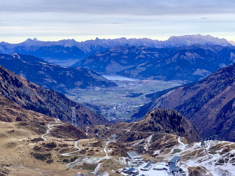 landscape view in Salzburg, Austria