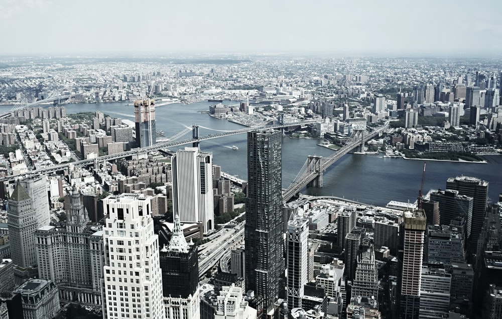 aerial photo of New York City during daytime