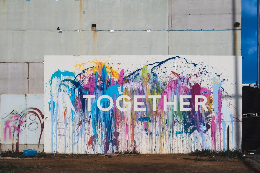 Together sign
