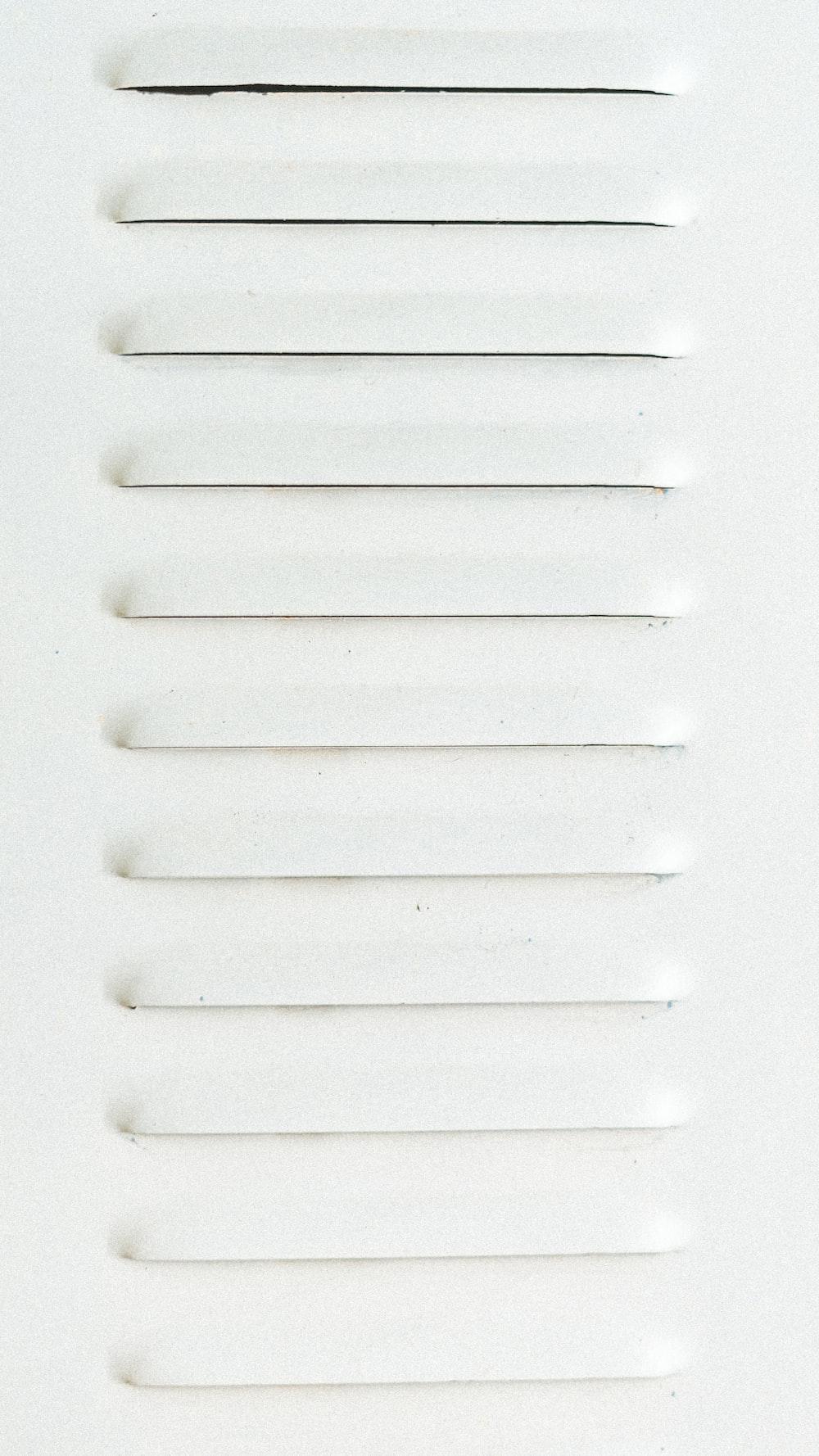 rectangular white metal panel