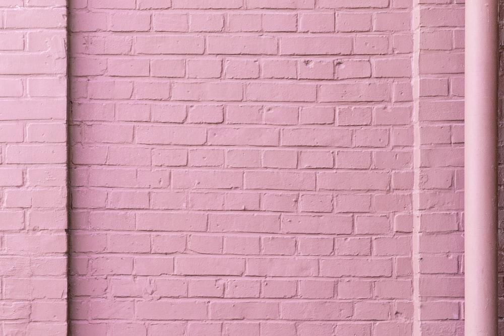 pink concrete wall