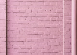 pink concrete wall