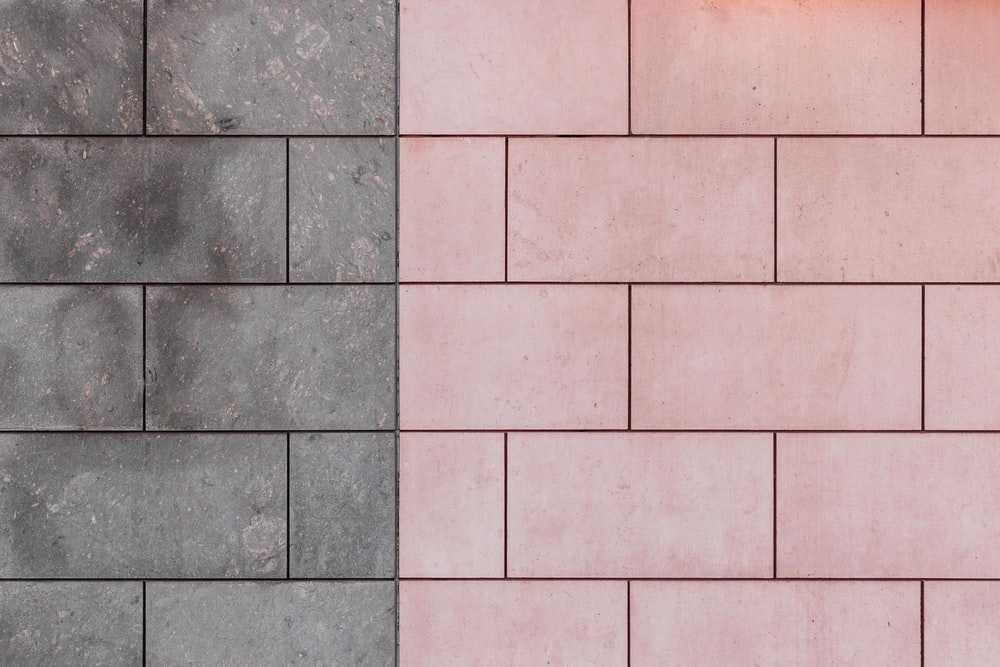 pink and gray concrete pavement