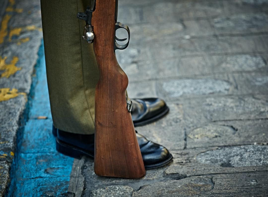 Resting Rifle