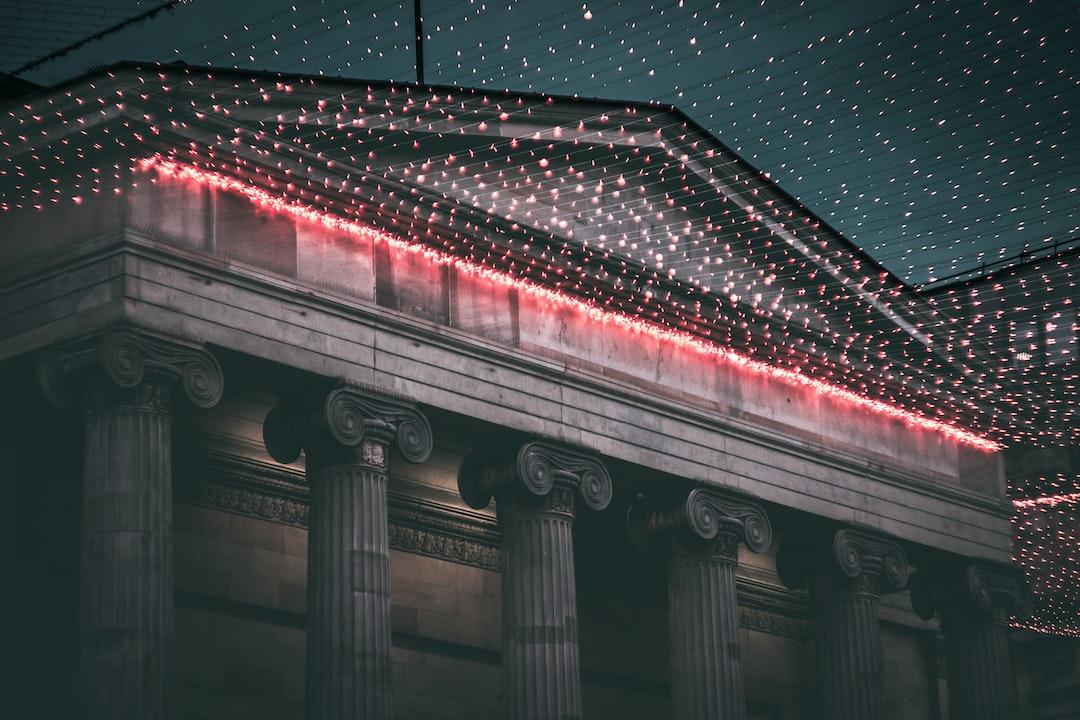 Glasgow Building Fairy Lights 2.0