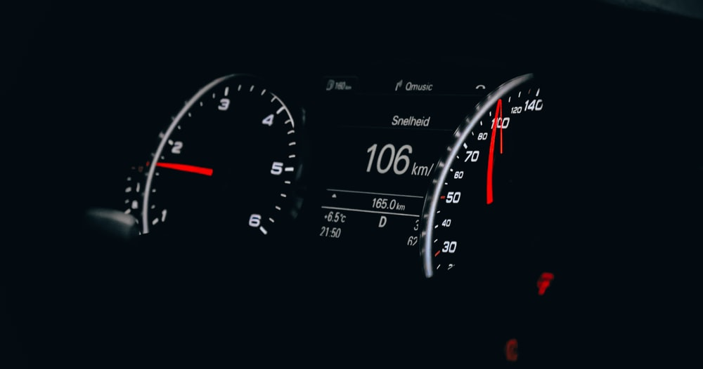 Black Car Analog Instrument Panel Cluster Photo Free Gauge Image On Unsplash