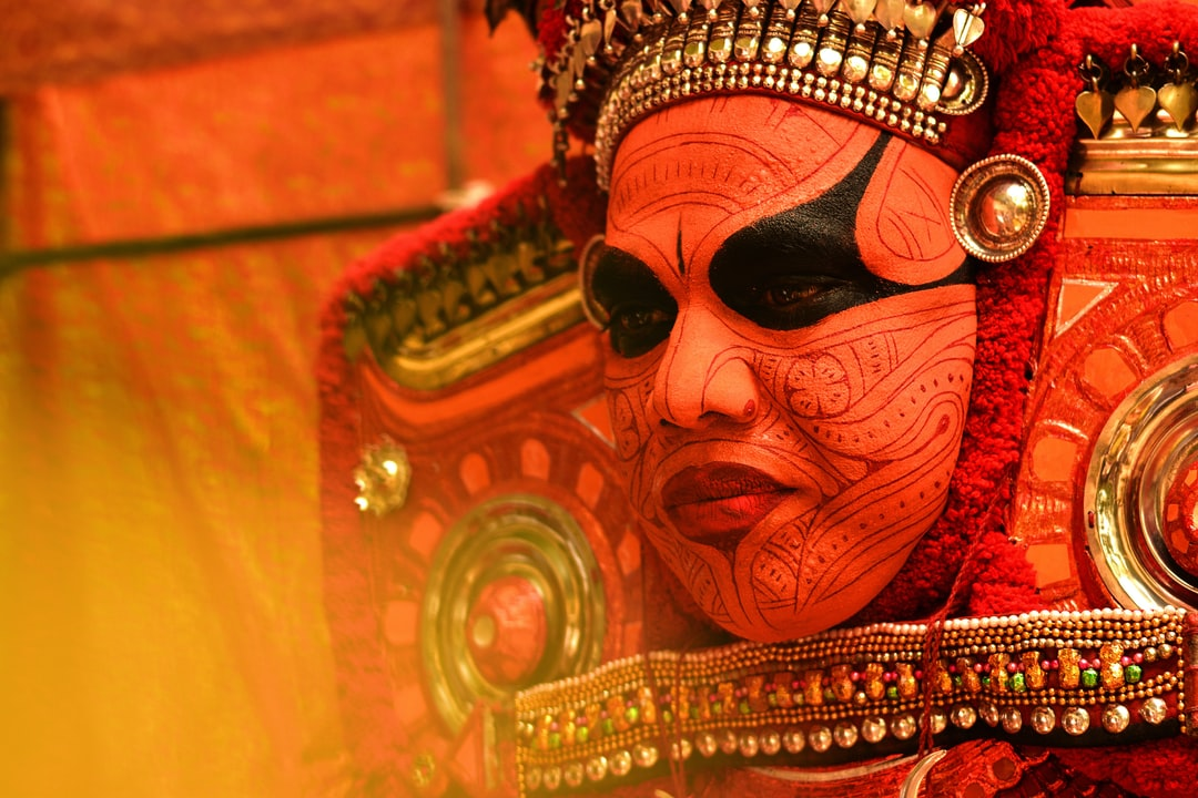 Theyyam is a popular ritual form of worship of North Malabar in Kerala, India. People consider Theyyam itself as a God and they seek blessings from them.