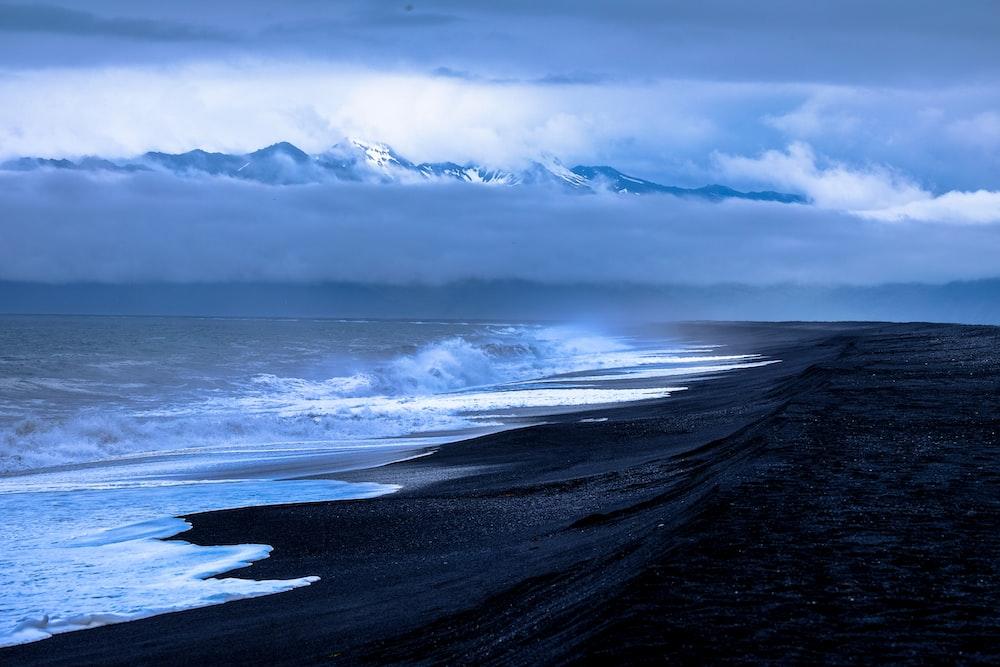 black shore