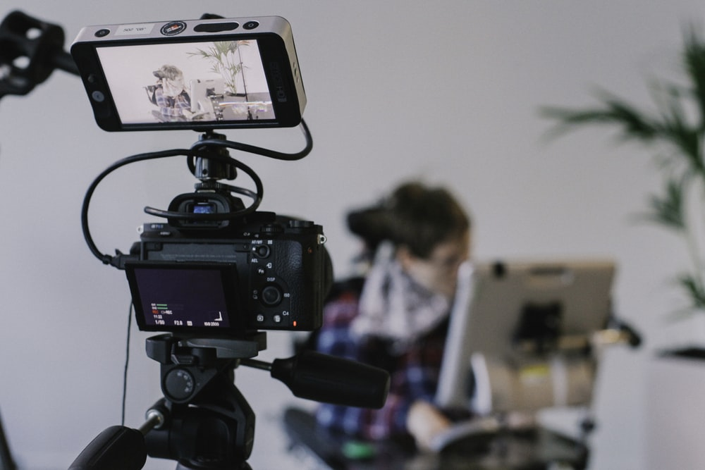 black camera - video production service