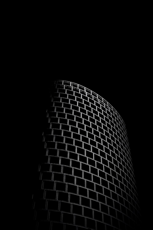 black and white plaid textile