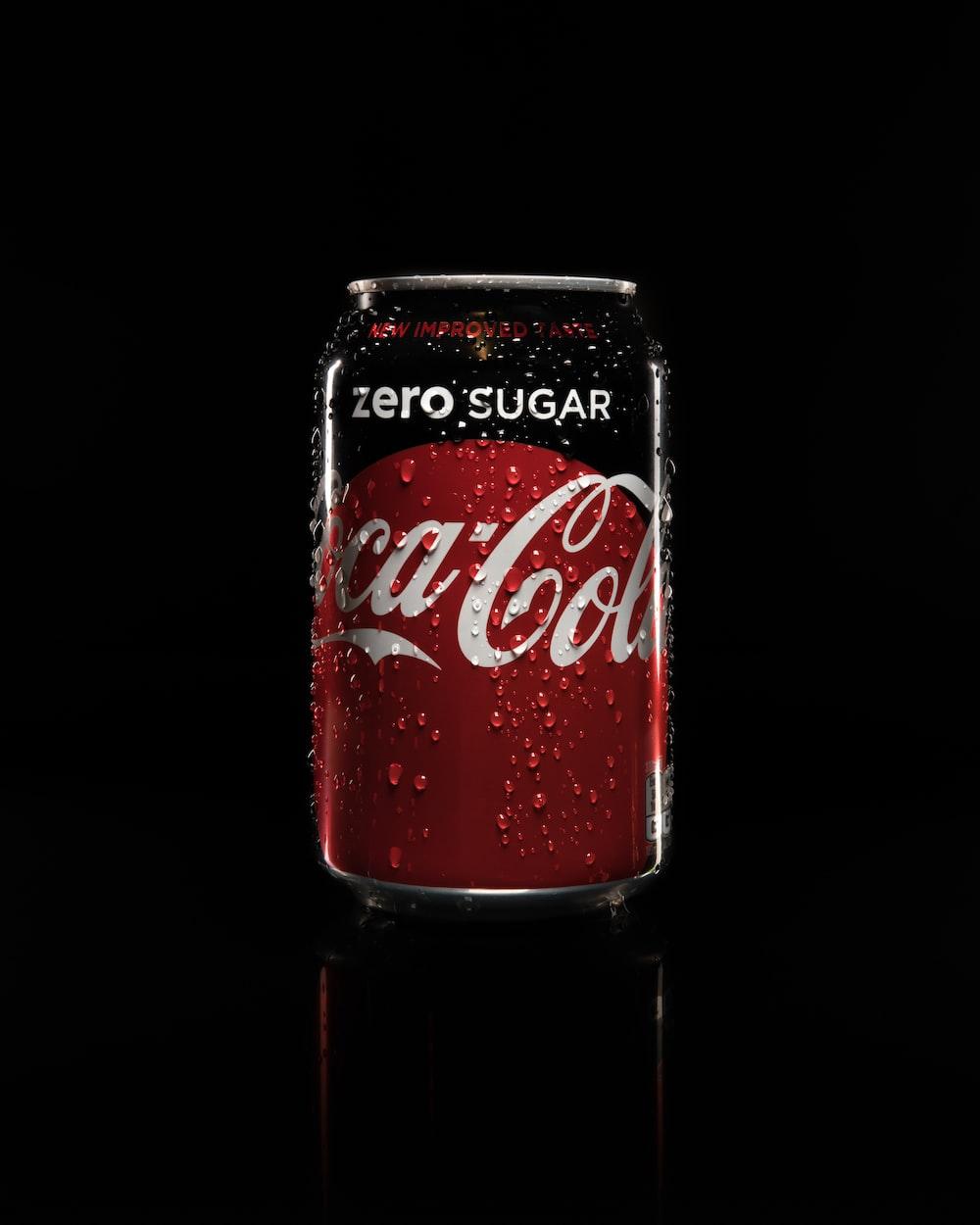 Coca-Cola zero sugar can