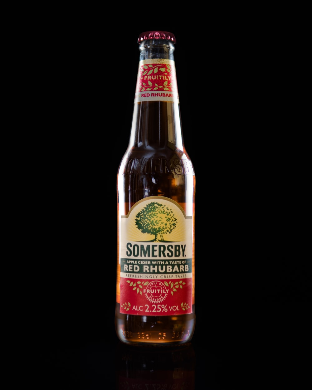 Somersby glass bottle