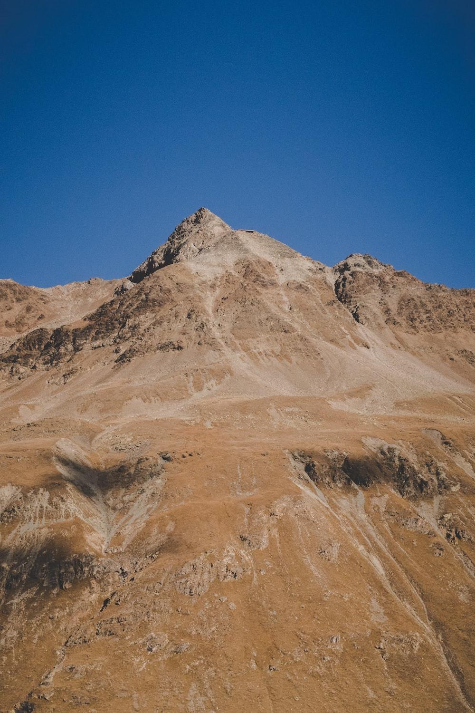 landscape beige mountain