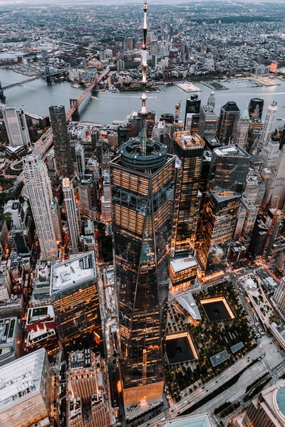 World Trade Building from Above