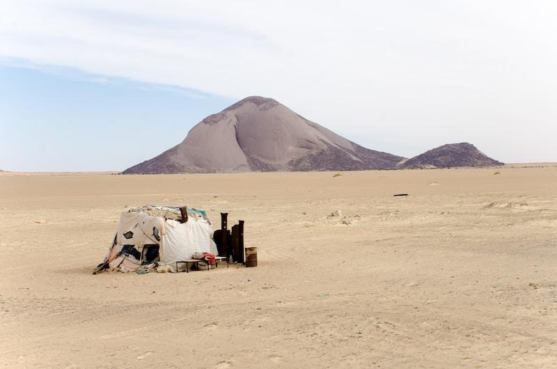 Coldest places in Mauritania by minimum mean temperature