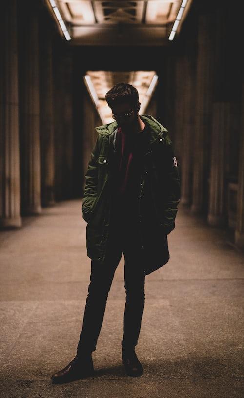 boy alone dp