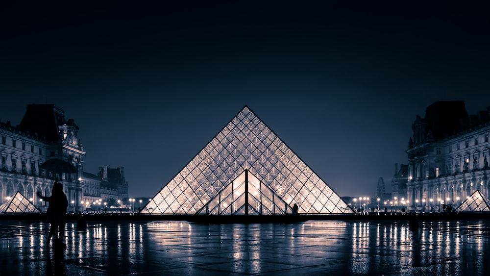 Louvre Museum at Paris France