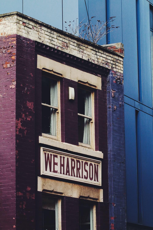 W.E. Harrison building