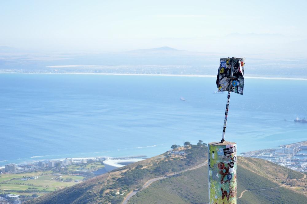 aerial mountain