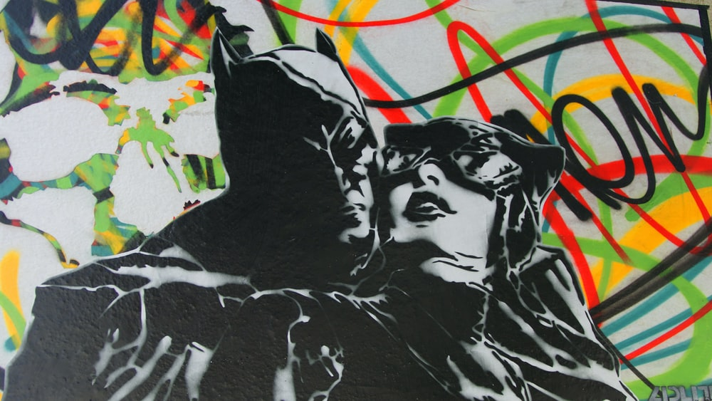 Batman and Catwoman