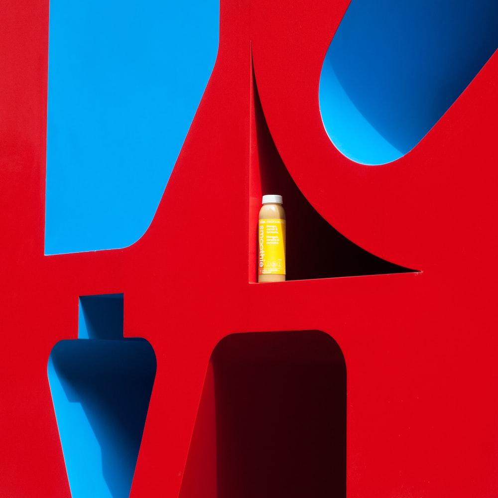 black and red logo illustration