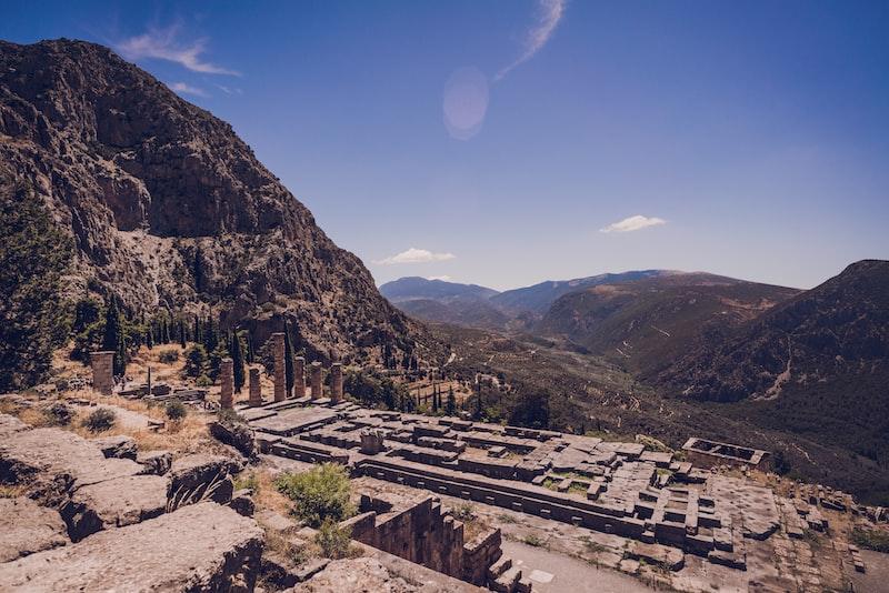 Day trips for Athens digital nomads - Delphi