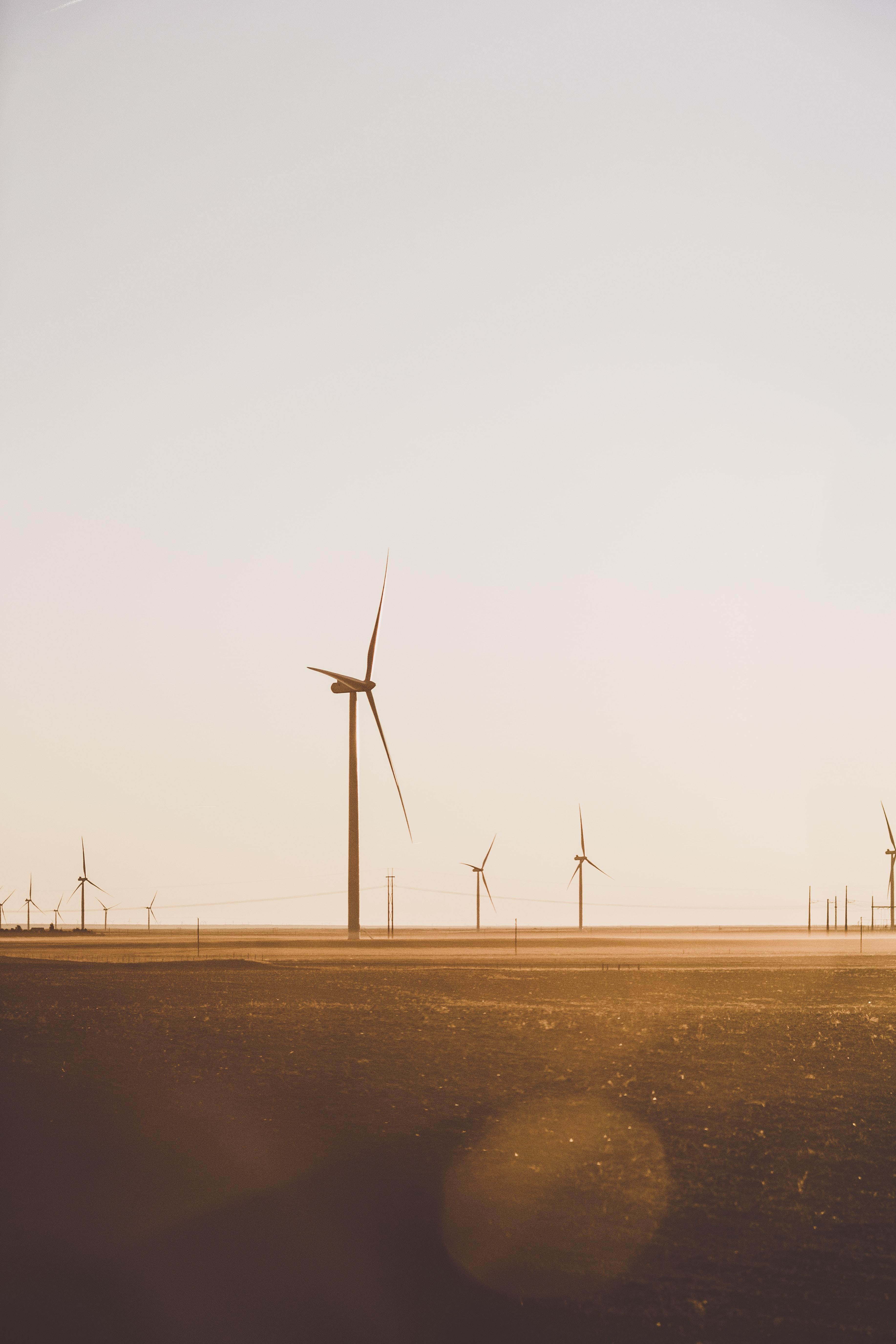field of wind mill
