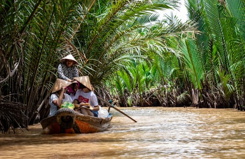 Mekong Delta attraction near Ho Chi Minh