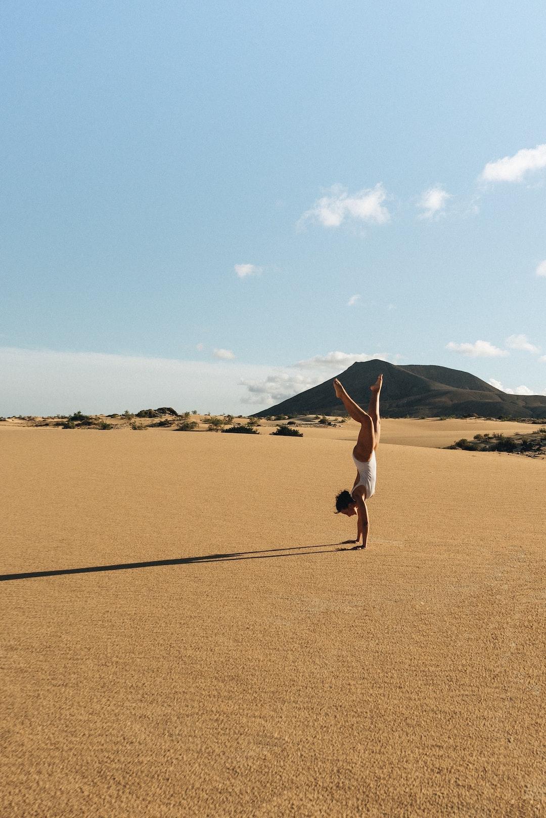 Holding sand world