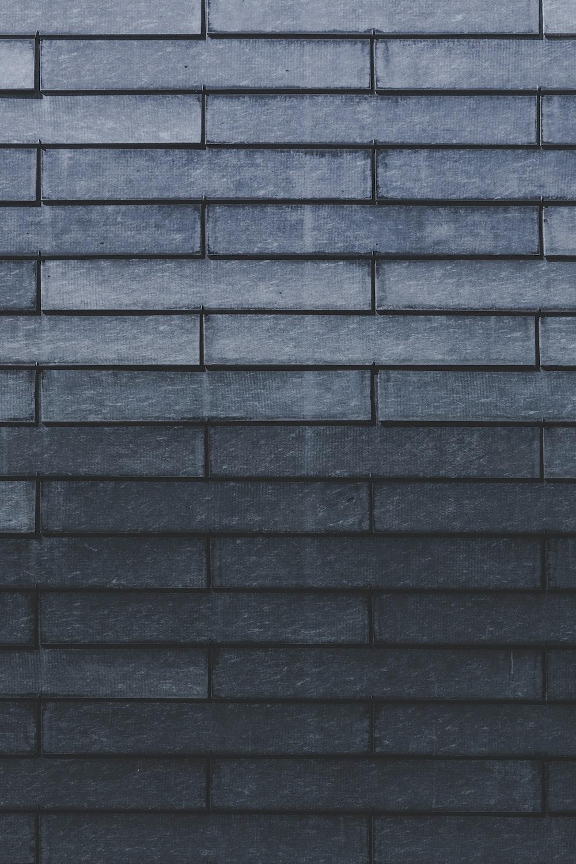 close-up of gray brick wall