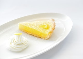 sliced of pie
