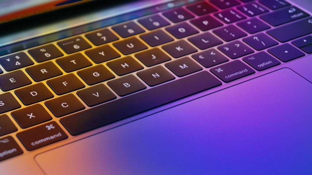 close up photography of MacBook Pro