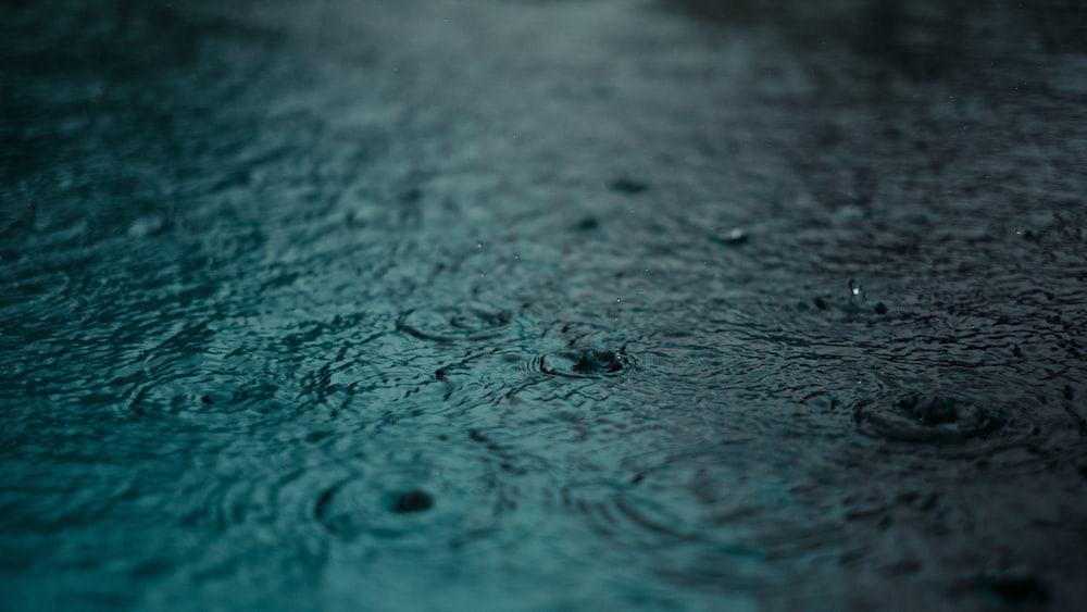 water with drops