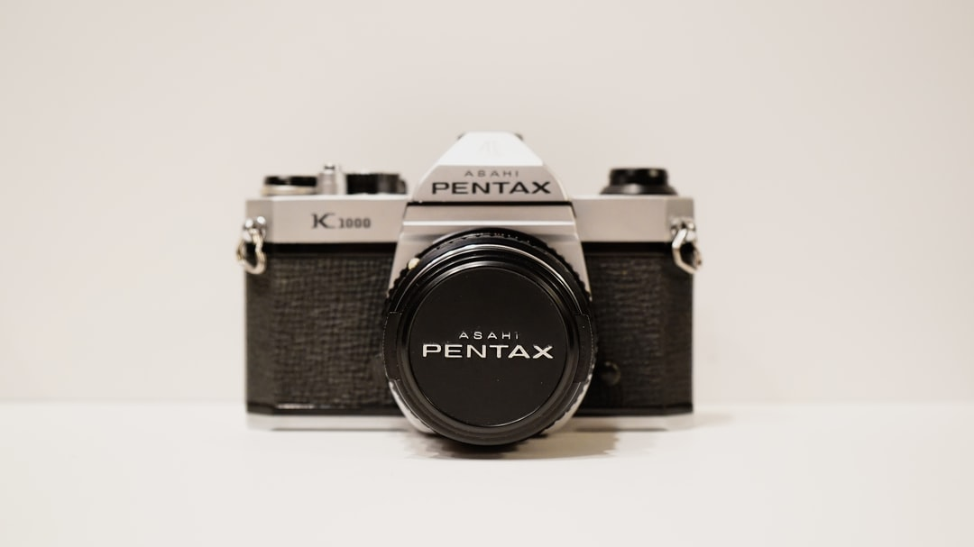 My grandfather's old vintage Pentax film camera :)