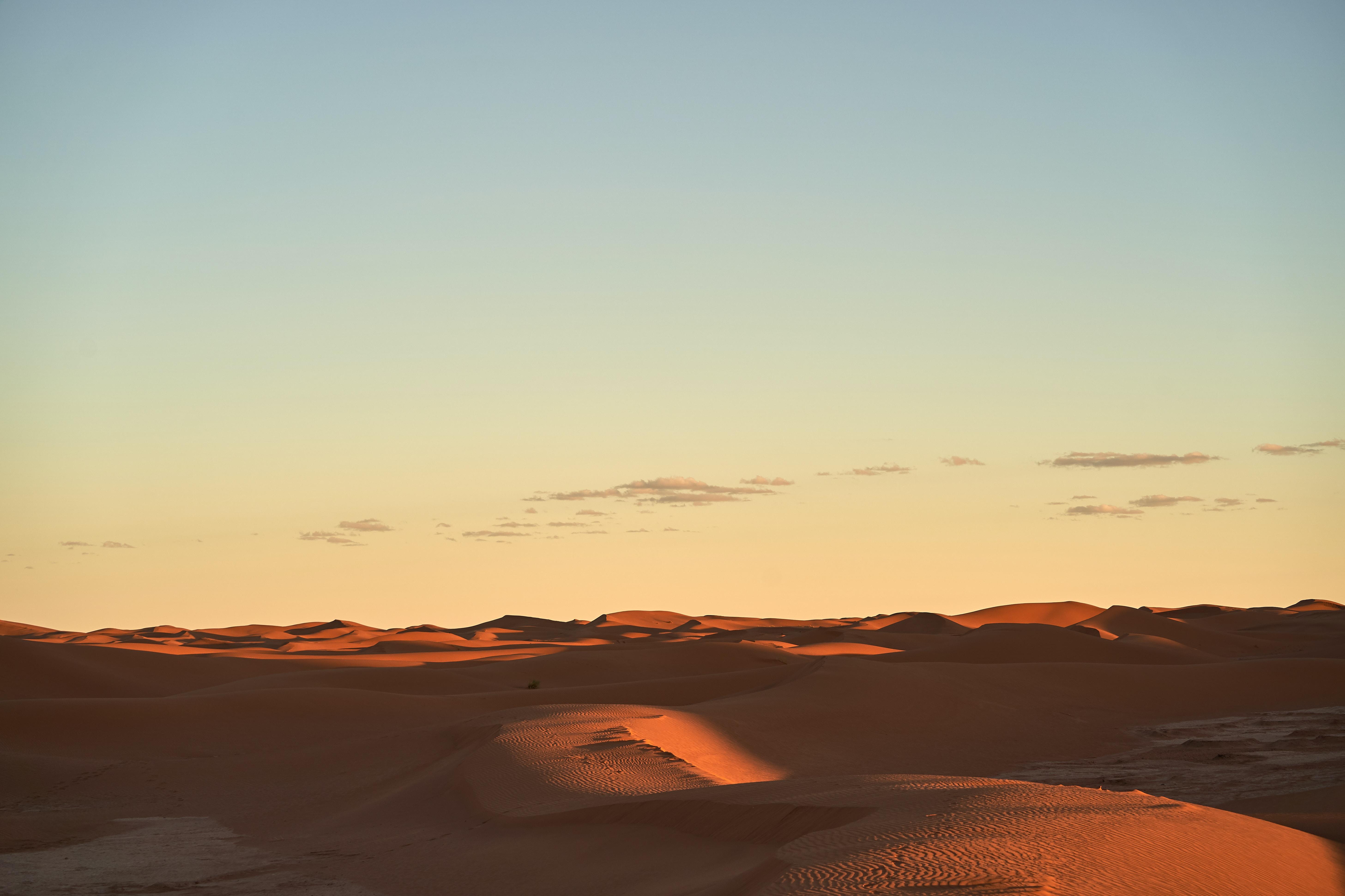 empty sand dune