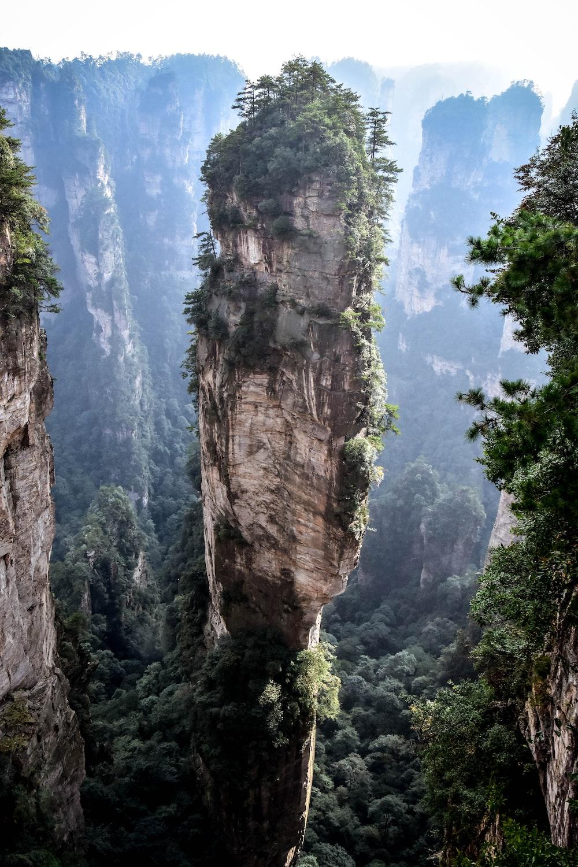 rock mountains photo