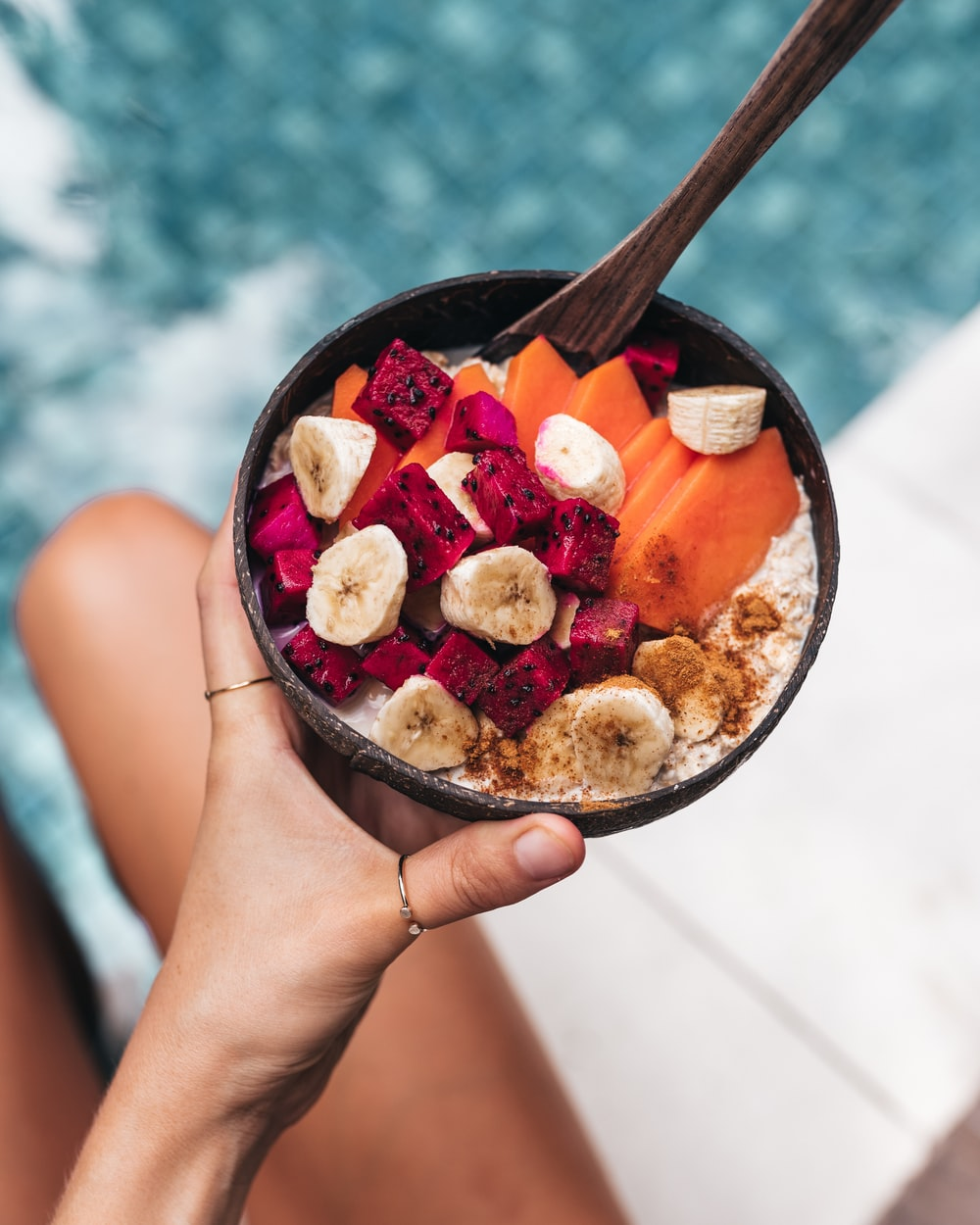 fruits in bowl