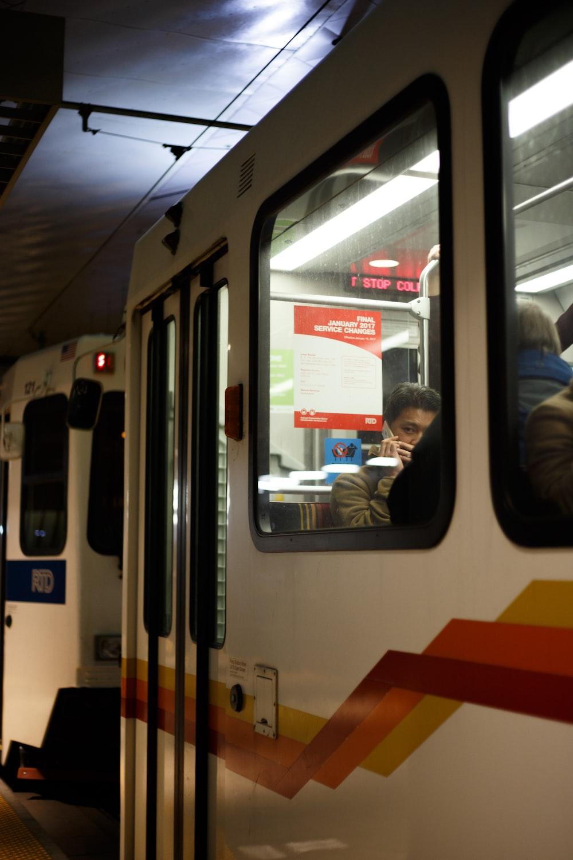 people inside train