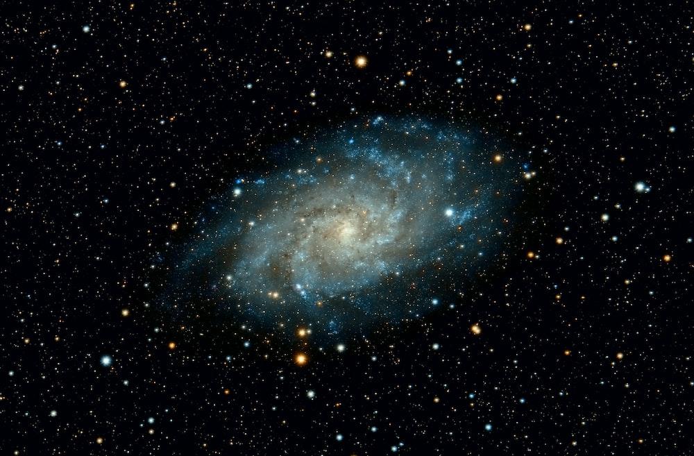 galaxy at night