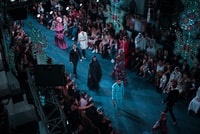 people fashion show on stage