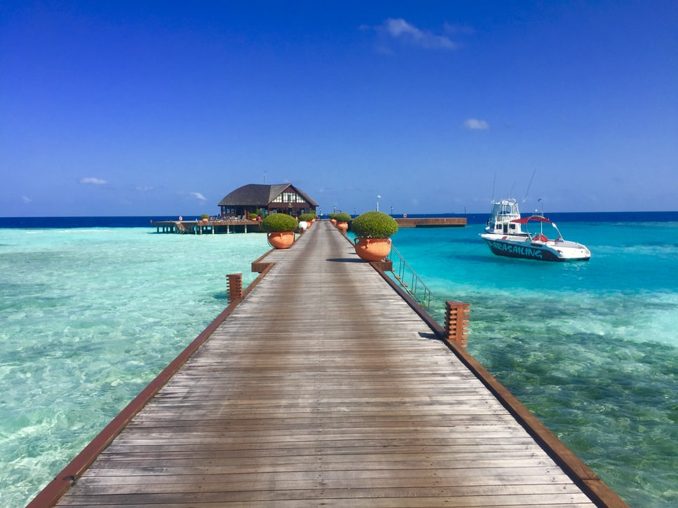 Olhuveli Resort and Spa - one of the most affordable watervillas in Maldives.