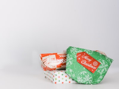 three assorted gift boxes christmas eve zoom background
