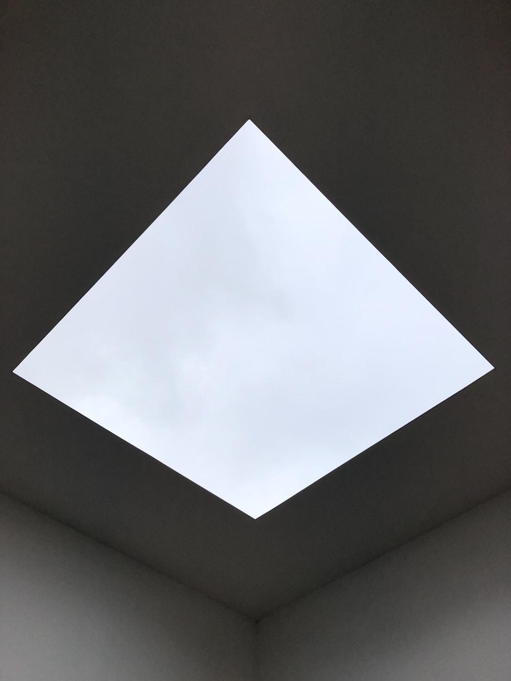 square white ceiling