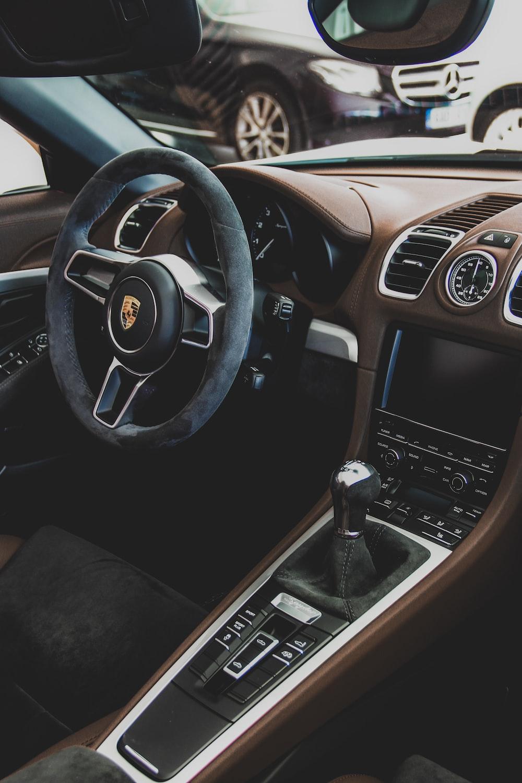 view of Porsche interior