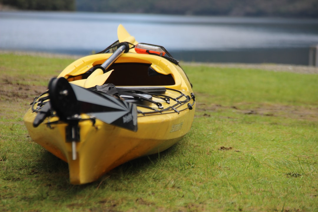 Kayak in the Fiord