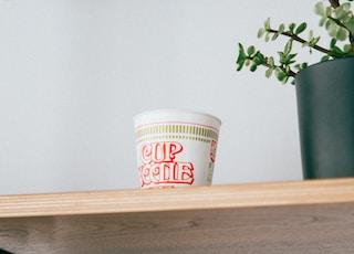 Cup Noodle cup