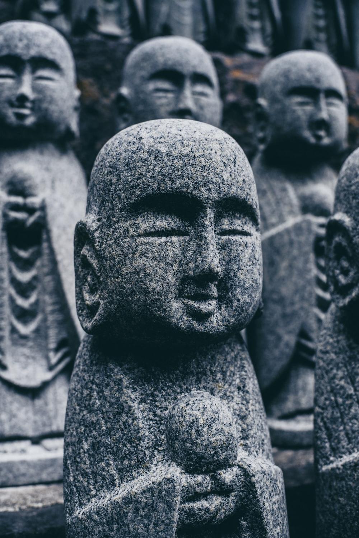 Budai statuettes